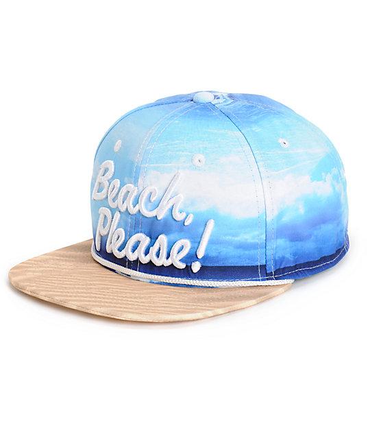 89ee19bf9 Empyre Beach Please Snapback Hat