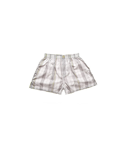 Empyre Big Wheeler Grey Plaid Boxer