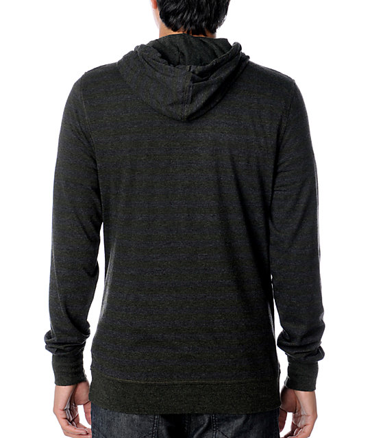 Empyre Blast Olive & Charcoal Knit Hoodie