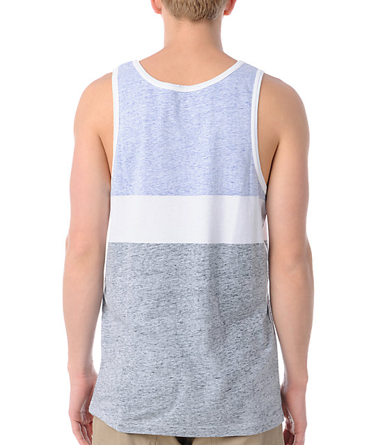 Empyre Blockade Blue Tank Top