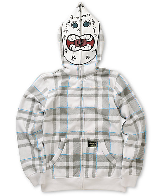 Empyre Boys Abominable Full Zip Face Mask Hoodie