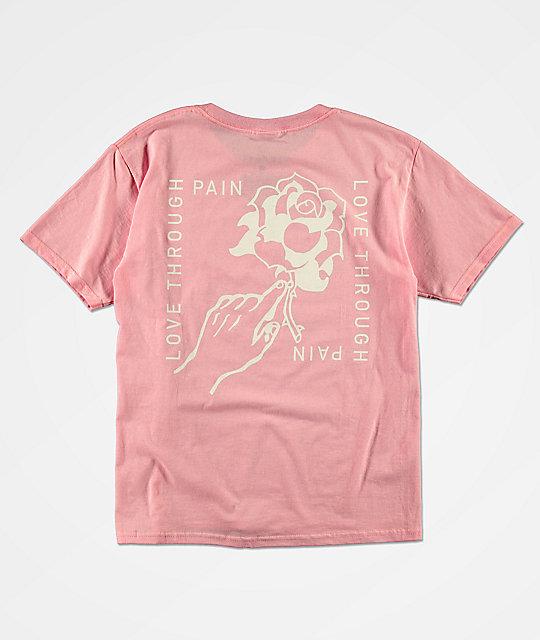boys pink top