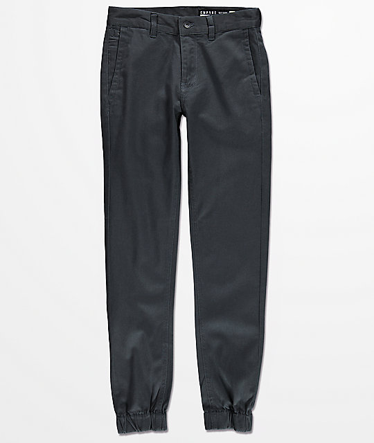 Empyre Boys Jag Charcoal Jogger Pants