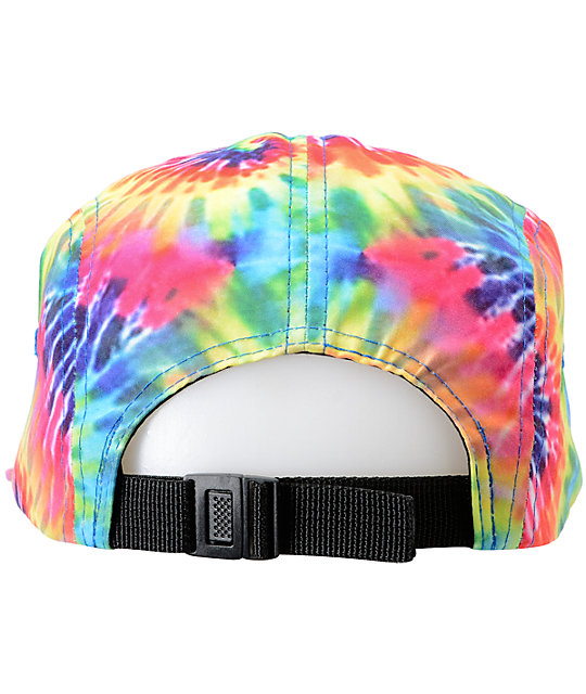 3de9426bac27c ... Empyre Breezy Tie Dye 5 Panel Hat