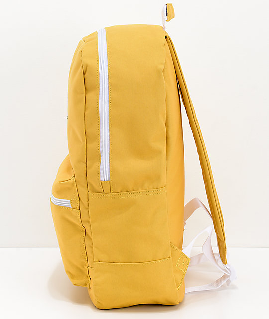 Empyre Brenda Cut Off Yellow Backpack