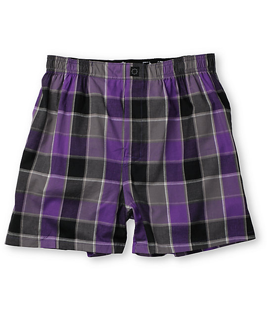 Empyre Brid Cage Black & Purple Boxer
