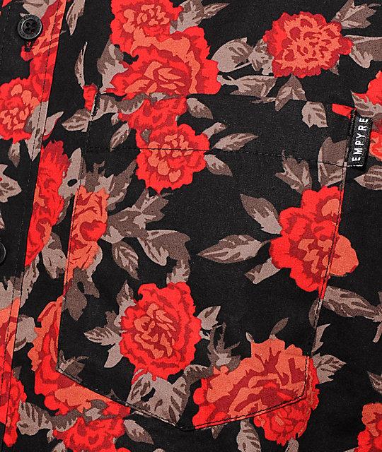 Empyre Buds Rose Button Up Shirt Zumiez