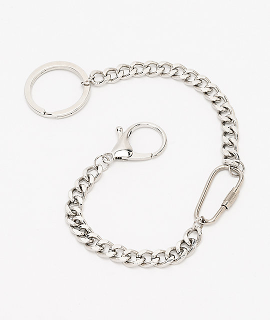 Empyre Carabiner Silver Mini Pocket Chain