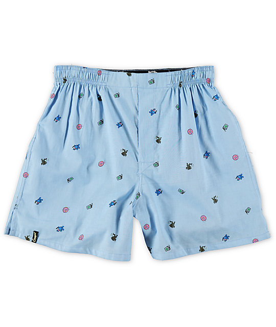 Empyre Cash Flash Blue Boxers