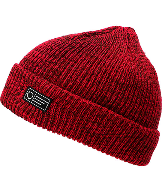 Empyre Cobblestone Heather Red Beanie