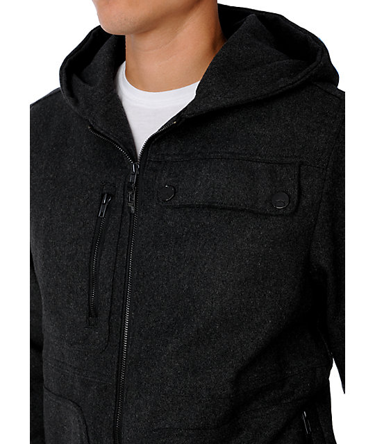 Empyre Counterattack Charcoal Jacket