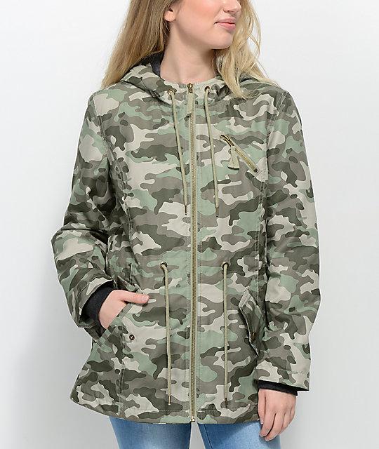 6339e487fe313 Empyre Delray Camo Hooded Jacket | Zumiez.ca