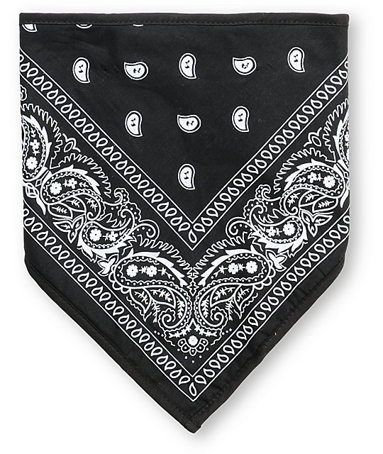 Empyre Denver Black Fleece Bandana Face Mask