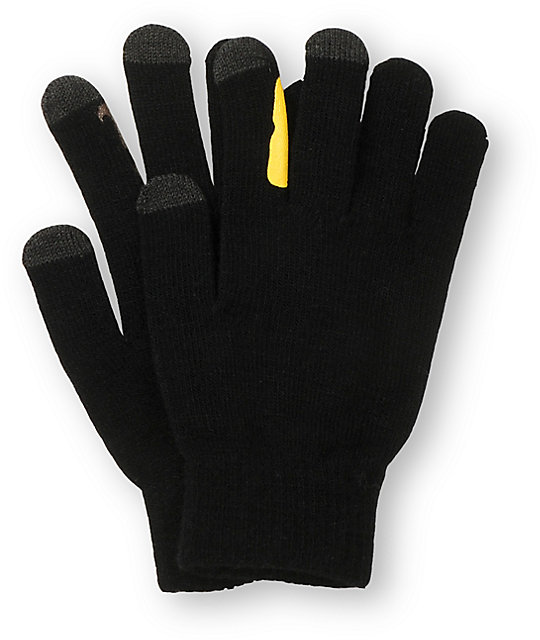 Empyre Disguise Black Smart Phone Gloves