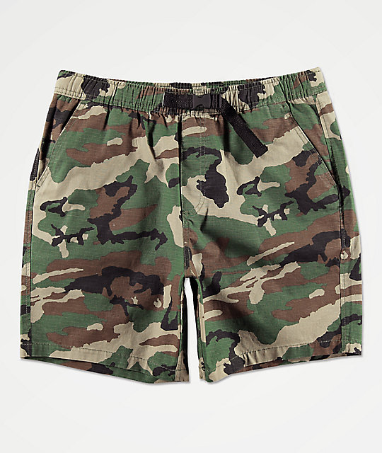 905b43cd4c1bf Empyre Dixon Camo Elastic Waist Shorts | Zumiez