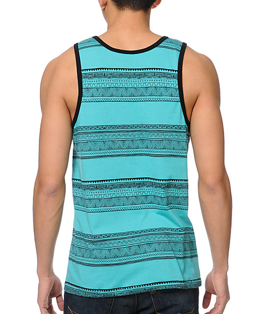 Empyre Dockside Turquoise Tank Top