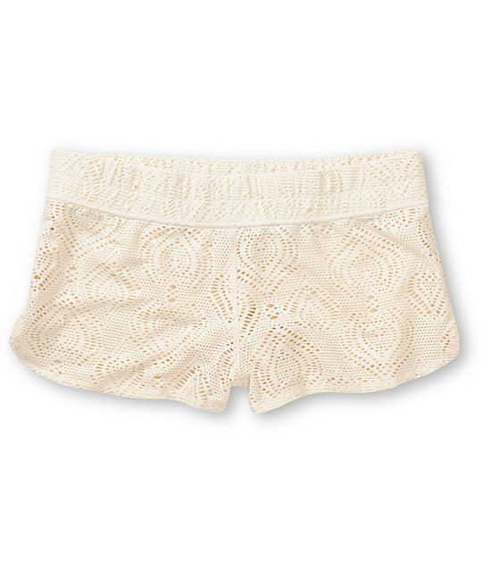 Empyre Dorea Natural Crochet Board Shorts