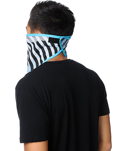 Empyre Dot Pattern Blue Face Mask Bandana