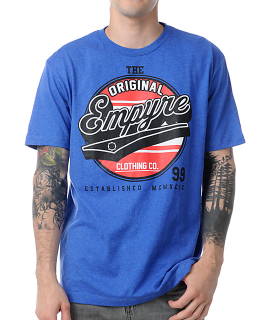 Empyre Em Nikola Heather Blue T-Shirt