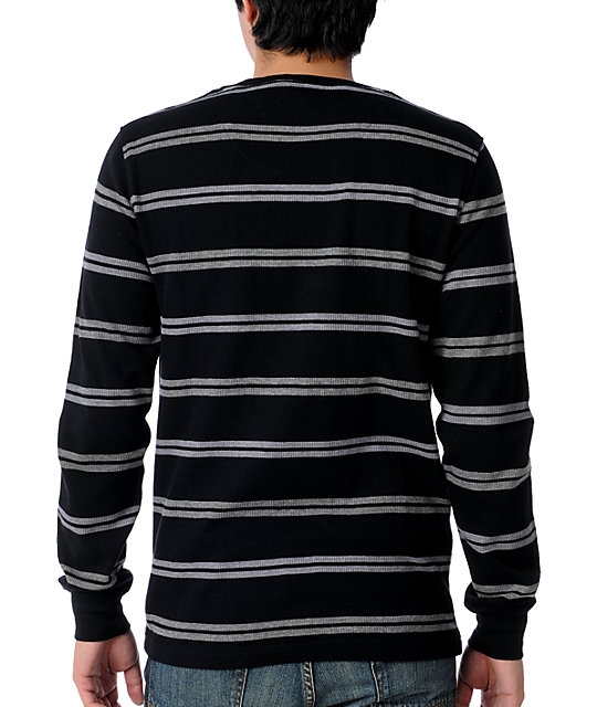 Empyre Evaluate Black & Grey Stripe Thermal