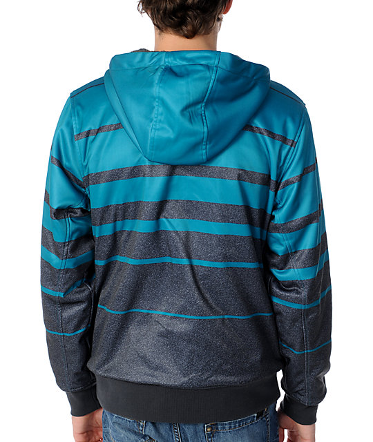 Empyre Fader Turquoise & Grey 2012 Tech Fleece Jacket
