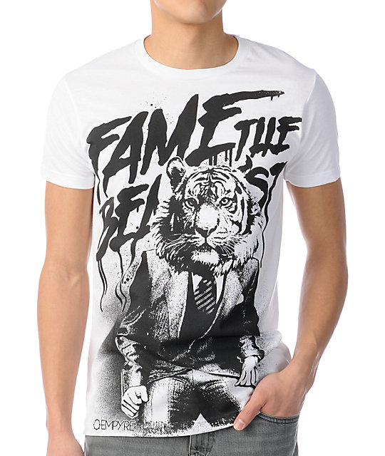 Empyre Fame The Beast White T-Shirt