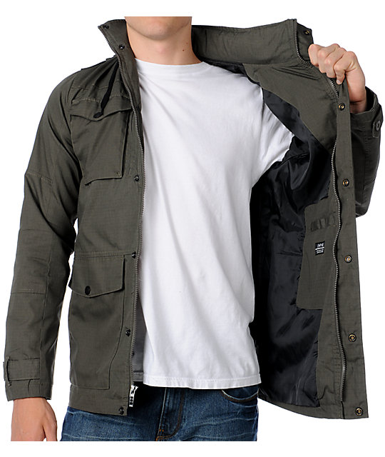 Empyre Field Officer M65 Mens Green Army Jacket