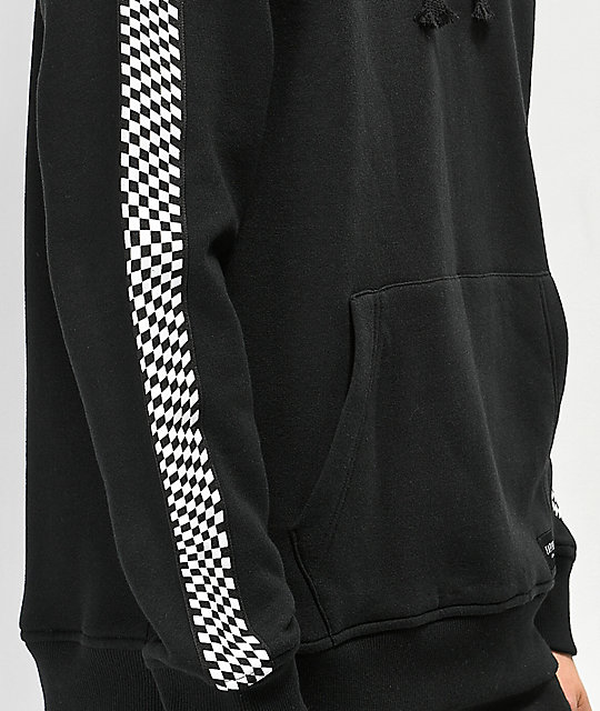 Empyre Final Lap Black & Checkered Hoodie