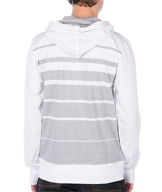 Empyre Finale White Hooded Knit