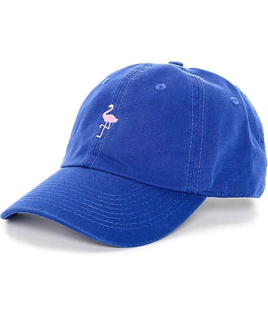 Empyre Fla Bingo Royal Blue   Pink Baseball Hat  589138400f39