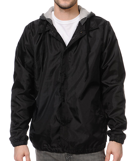 Empyre Flagrant Black Coach Jacket