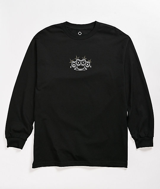 Empyre Flashed Black Long Sleeve T-Shirt