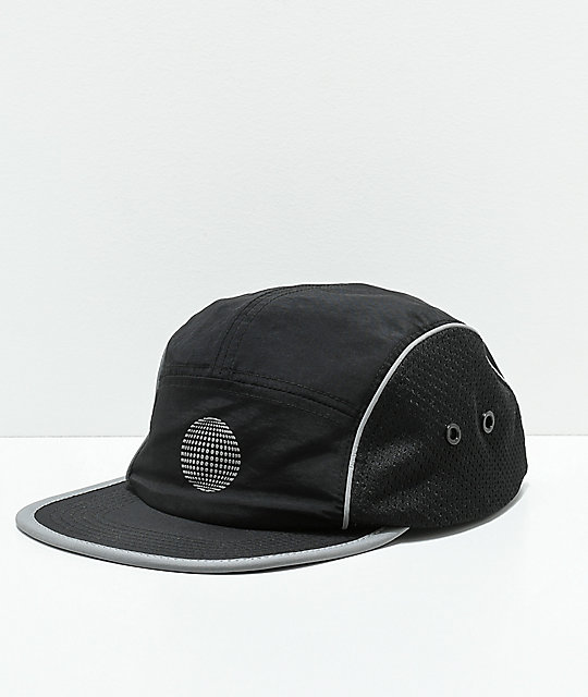 07faa4bfbf7 Empyre Flatbrush Black Strapback Hat