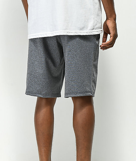 Empyre Flavien Grey Athletic Stretchy Shorts