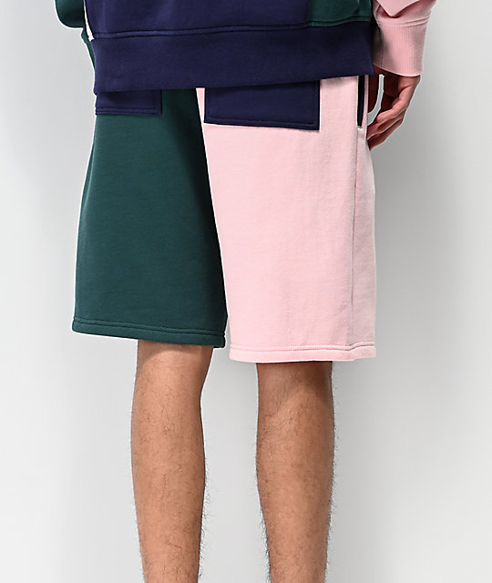 Empyre Flipped Colorblock shorts de punto