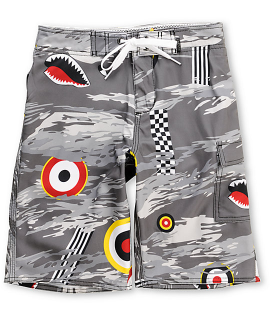 Empyre Focus Boys 4-Way Stretch Board Shorts