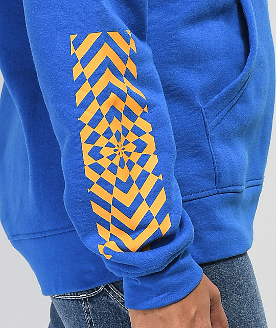 Empyre Fredia Shattered Blue Hoodie