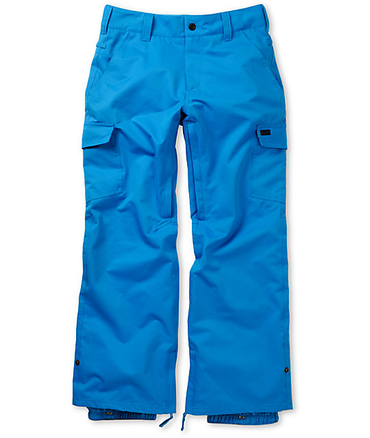 Empyre Free Roller Blue 10K Snowboard Pants