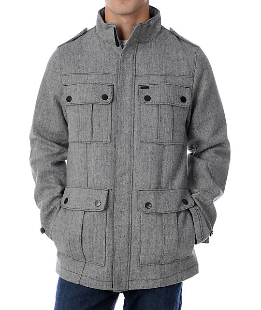 Empyre Friendly Fire Grey Jacket