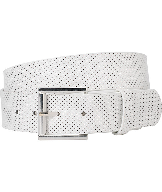 Empyre Froll With It Perforated White Belt