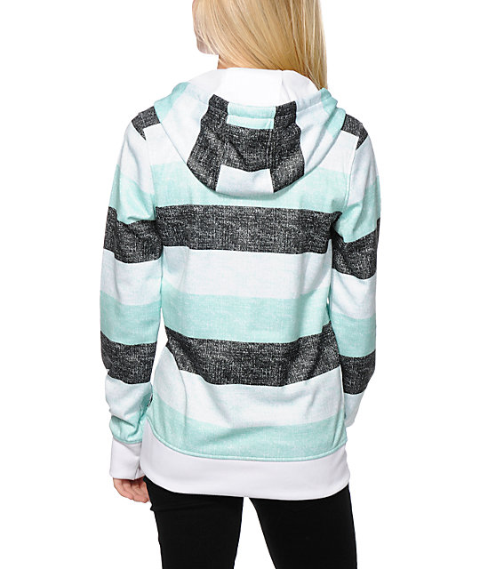 Empyre Frostier Stripe Tech Fleece Hoodie