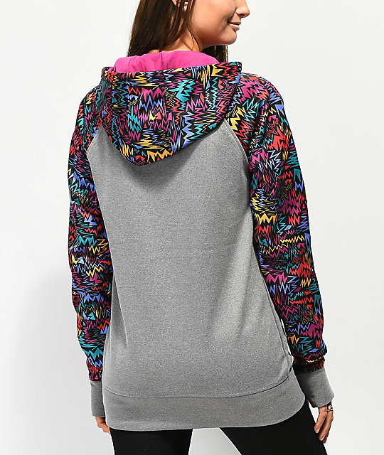 Empyre Frosty Zigzag Tech Fleece Hoodie