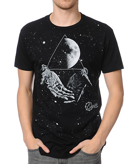 Empyre Galaxy Hands Black T-Shirt