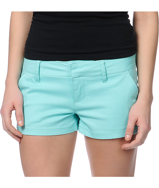 Empyre Girl Arcadia Aruba Blue Mint Shorts