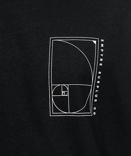 Empyre Golden Ratio camiseta negra