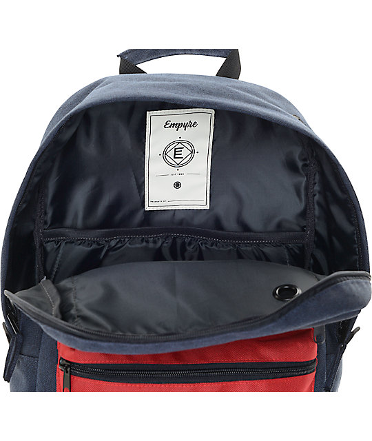 b645764539 ... Empyre Good Navy   Red Backpack