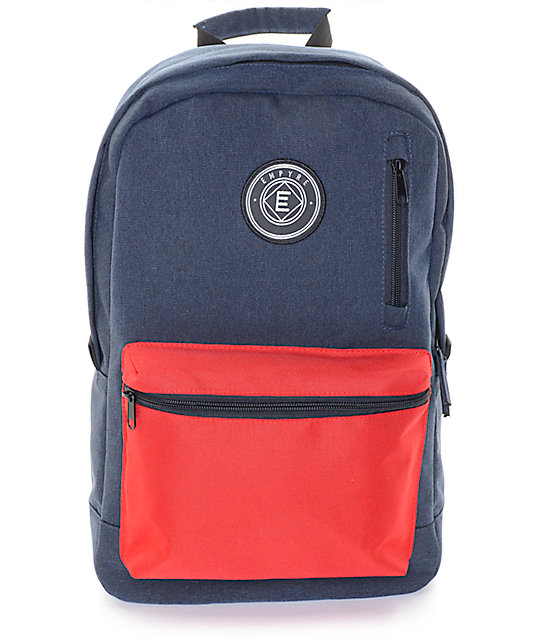 a842c03f3b Empyre Good Navy   Red Backpack