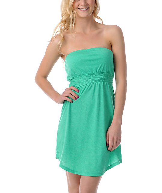 Empyre Green Tube Dress