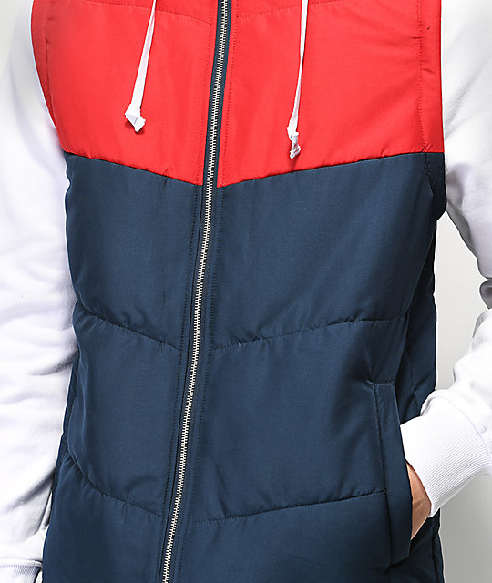 Empyre Gust Red, White & Blue 2Fer Jacket