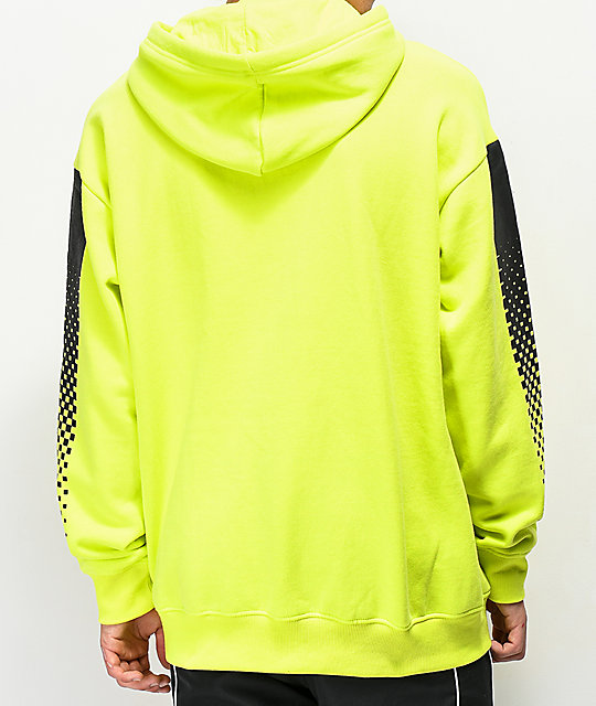 Empyre Halftone Neon Green Hoodie
